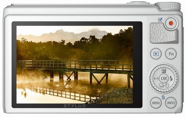 Olymous Stylus XZ-10 Compact Prosumer Camera back