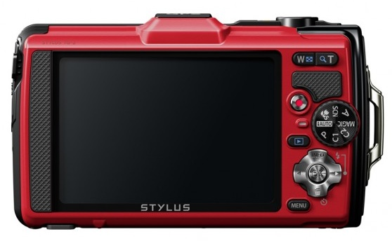 Olympus STYLUS TOUGH TG-2 iHS Flagship Rugged Camera back