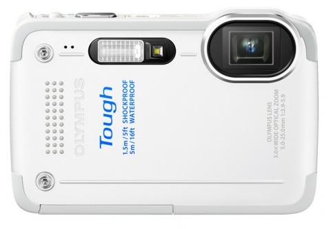 Olympus STYLUS TOUGH TG-630 iHS rugged camera white