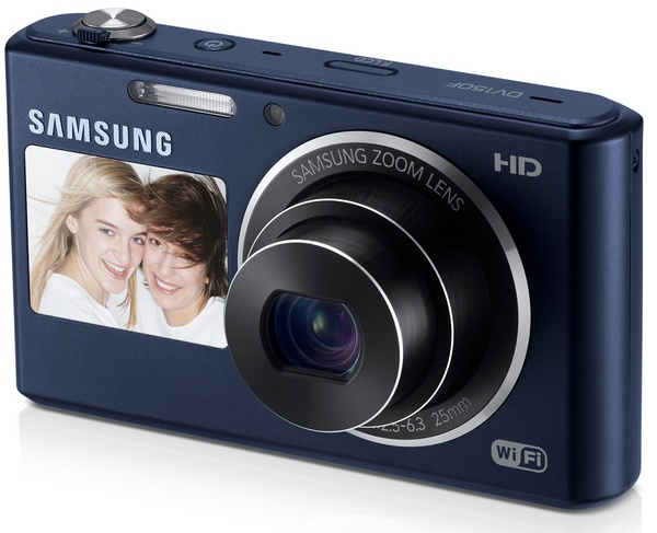 Samsung DV150F Smart Camera with WiFi and Touchscreen cobalt black