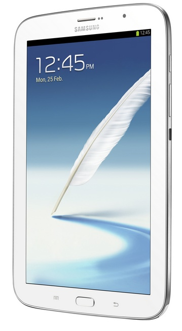 Samsung Galaxy Note 8.0 Quad-core Phone Tablet Hybrid angle