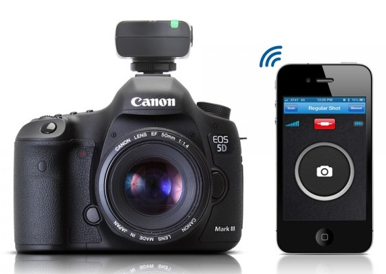 Satechi Bluetooth Smart Trigger Turns iPhone into a DSLR Remote Control