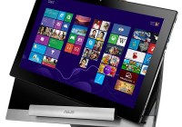 Asus Transformer AiO P1801 with Detachable Tablet hand lifting