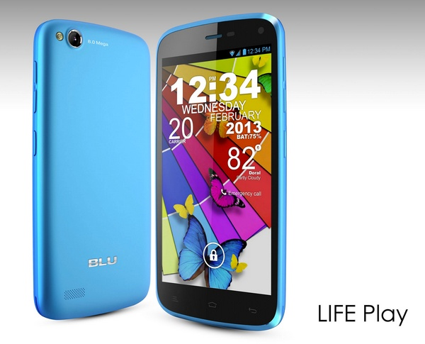BLU Products Life Play Android smartphone