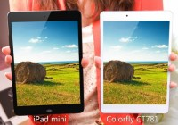 Colorfly CT781 iPad mini Clone is even Thinner compare