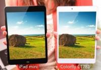 Colorfly CT781 iPad mini Clone is even Thinner compare