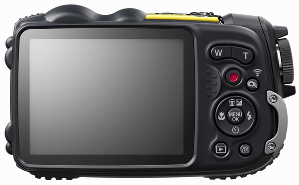FujiFilm FinePix XP200 Ultra Rugged Camera with WiFi back