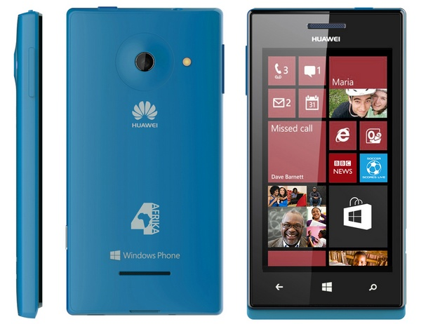 Huawei Windows Phone 4Afrika blue