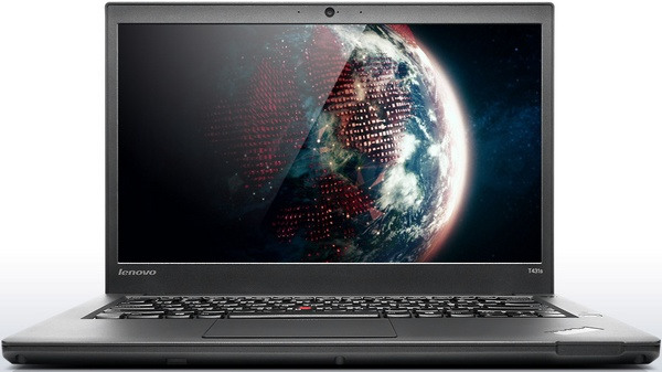 Lenovo ThinkPad T431s Ultrabook with a Streamlined Design front 1
