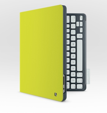 Logitech Keyboard Folio for iPad yellow