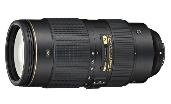 Nikon AF-S NIKKOR 80-400mm f4.5-5.6G ED VR Telephoto Lens