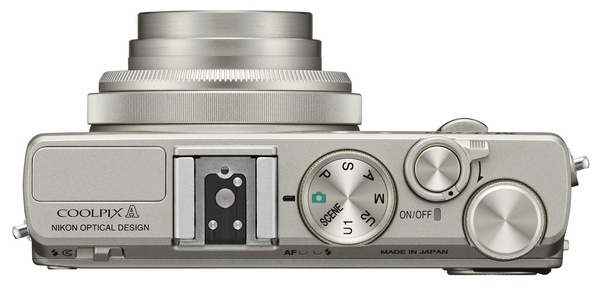 Nikon CoolPix A packs DX-format sensor in Pocket Size silver top