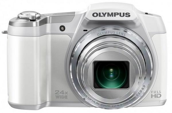 Olympus STYLUS SZ-16 iHS long-zoom camera silver