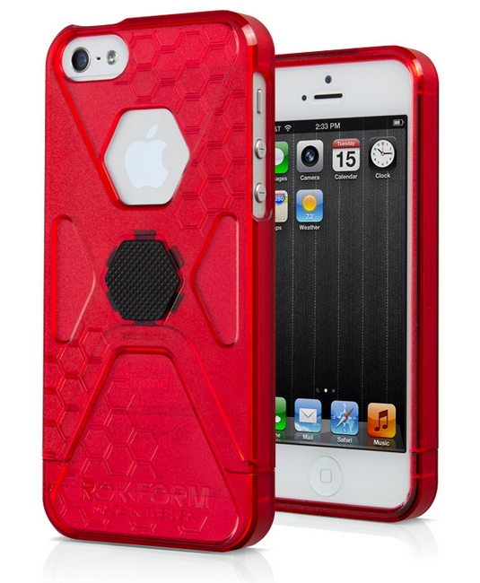 Rokform SlimRok Ultra Slim iPhone 5 Case red