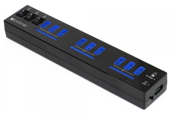 Satechi launches 10-Port USB 3.0 Hub with an iPad Charging Port