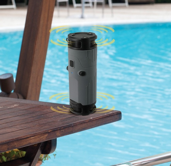 Scosche boomBOTTLE Weatherproof Wireless Speaker pool