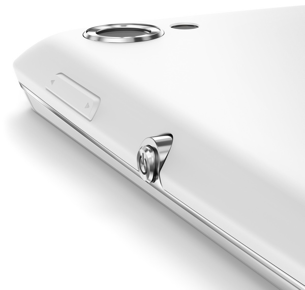 Sony Xperia L Stylish Entry-level Android Smartphone home button