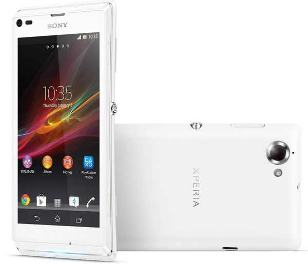 Sony Xperia L Stylish Entry-level Android Smartphone white