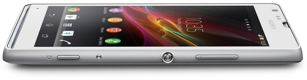 Sony Xperia SP Mid-range Smartphone with Premium Design side