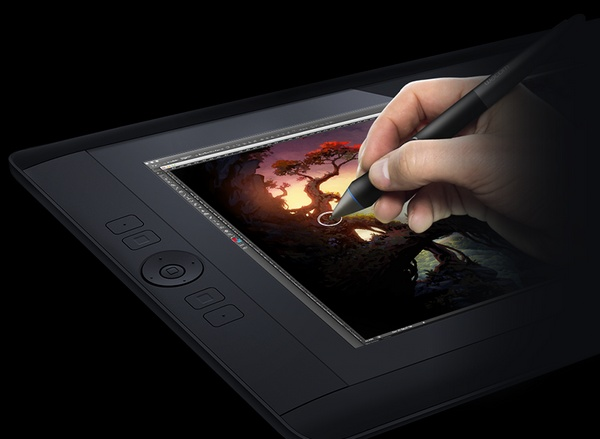 Wacom Cintiq 13HD Interactive Pen Display in use