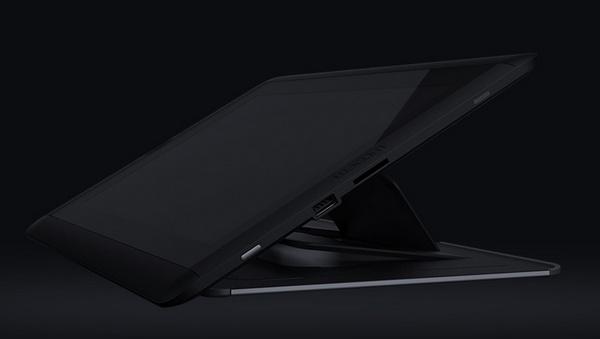 Wacom Cintiq 13HD Interactive Pen Display stand angle