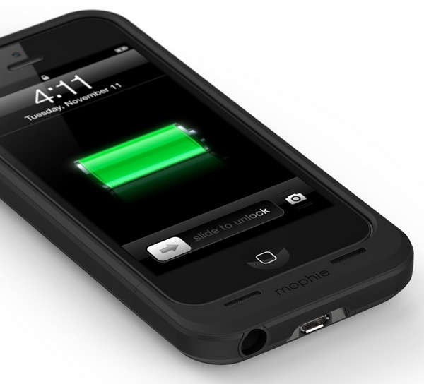 mophie juice pack air battery case for iPhone 5 connectors