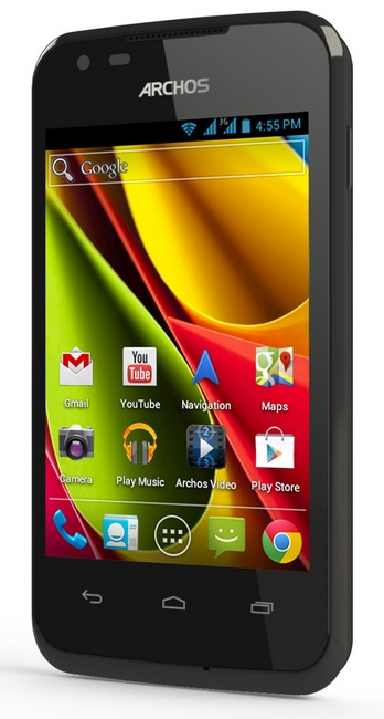 Archos 35 Carbon Android Smartphone angle