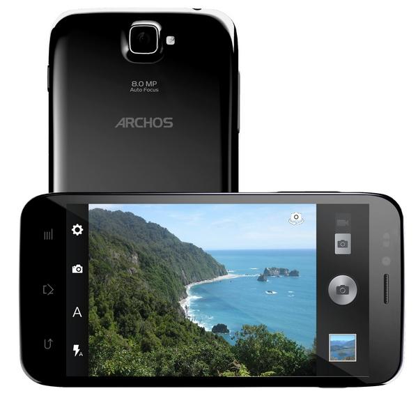 Archos 50 Platinum Android smartphone