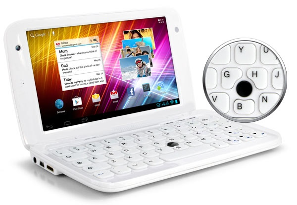 Ergo GoNote Mini 7-inch Android Tablet Netbook Hybrid keyboard