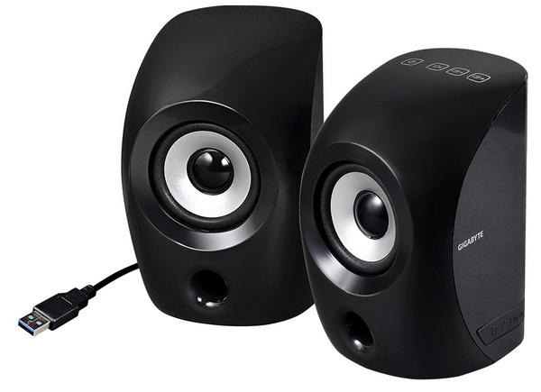 Gigabyte GP-S3000 USB 3.0 Speaker black