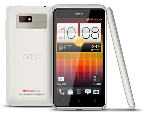 HTC Desire L android phone white