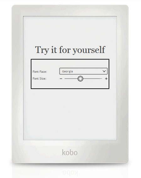Kobo Aura HD Limited Edition E-book Reader white