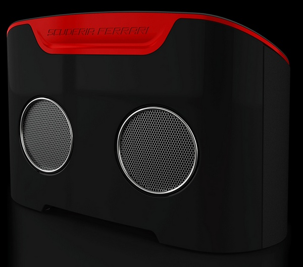 Logic3 Ferrari Scuderia FS1 Air AirPlay Speaker back