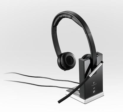 Logitech Wireless Headset H820e offers Enterprise-grade Audio dual charger dock