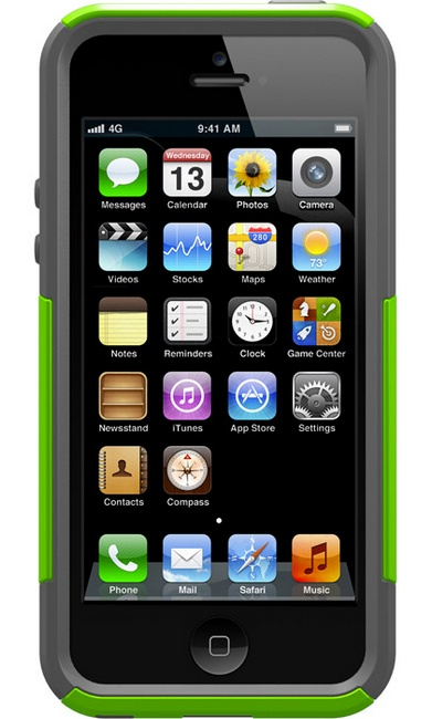 OtterBox Commuter 3D Case for iPhone 5 front