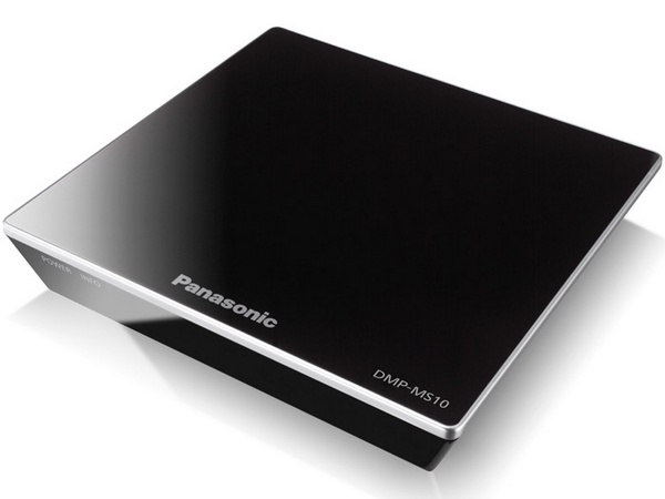 Panasonic DMP-MS10 Streaming Media Player with WIFi, Miracast, DLNA