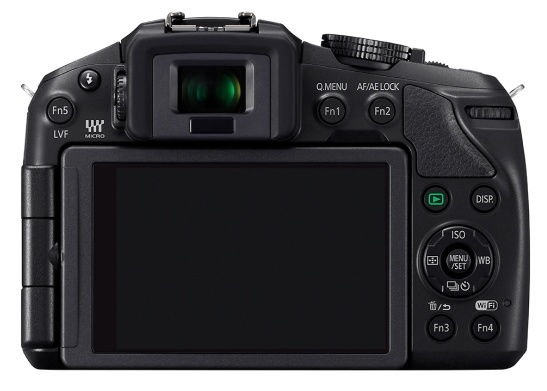 Panasonic LUMIX DMC-G6 Micro43 Mirrorless Camera back