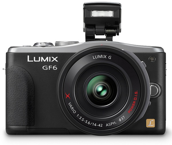 Panasonic LUMIX DMC-GF6 Micro Four Thirds Mirrorless Camera with WiFi and NFC flash