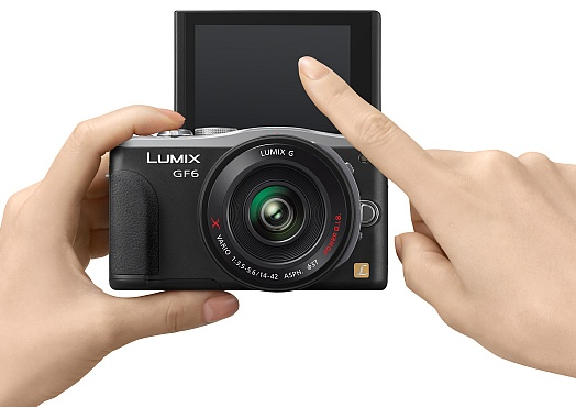 Panasonic LUMIX DMC-GF6 Micro Four Thirds Mirrorless Camera with WiFi and NFC touch