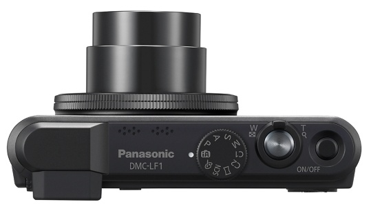Panasonic LUMIX DMC-LF1 High-end Compact Camera with F2.0 Leica Lens top