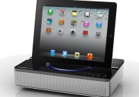 Panasonic SC-NP10 Wireless Speaker System with Universal Tablet Stand 1