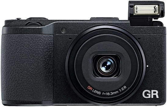 Ricoh GR Premium Compact Camera with APS-C Sensor flash