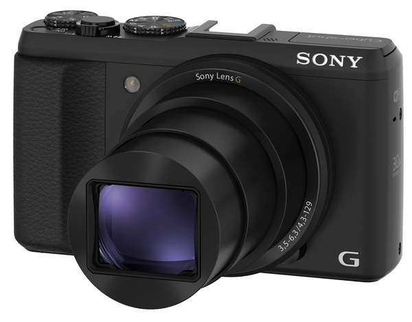 Sony Cyber-shot HX50V is the World's Smallest and Lightest 30x Zoom Camera
