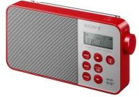 Sony XDR-S40DBP Digital Radio red