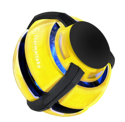Thermaltake GOrb II Laptop Cooling Ball yellow