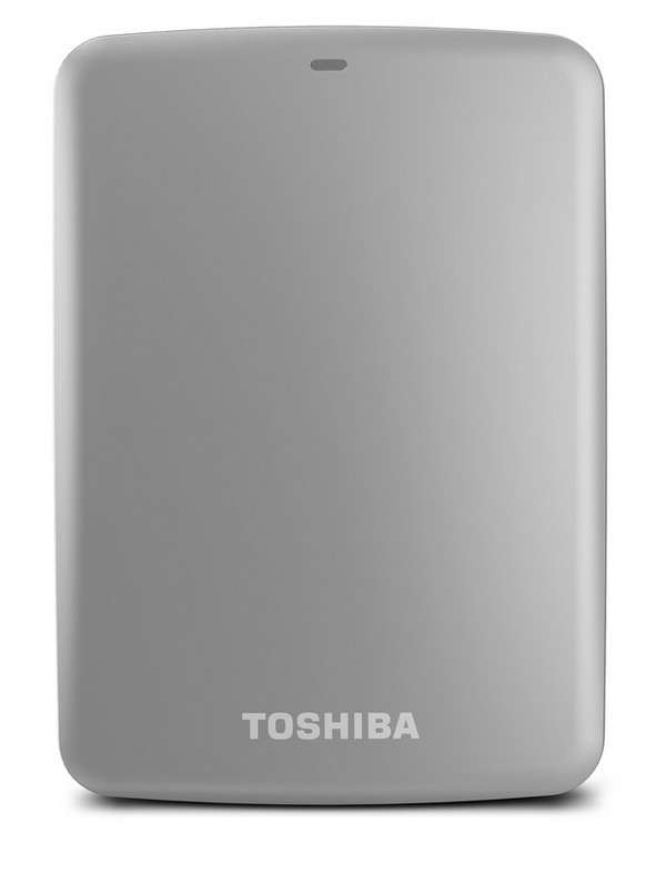 Toshiba Canvio Connect Portable Hard Drive silver