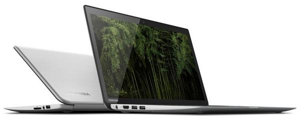 Toshiba KIRAbook Premium Ultrabook with 13.3-inch PixelPure angle 1