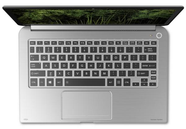 Toshiba KIRAbook Premium Ultrabook with 13.3-inch PixelPure keyboard