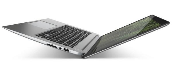 Toshiba KIRAbook Premium Ultrabook with 13.3-inch PixelPure side