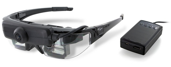Vuzix STAR 1200XLD Augmented Reality Video Glasses